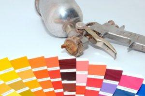 lackierpistole farbe