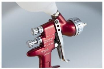 DEVILBISS GTi PRO H1-C HVLP Clear Lackierpistole - Spritzpistole mit Düsengröße: 1,2mm