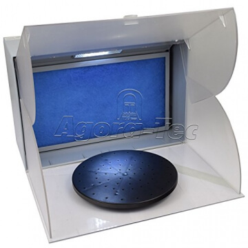 Agora-Tec® Airbrush Spritzkabine Absauganlage AT-ASK-01 mit 4,3m³