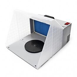 Airbrush Zubehör Absauganlage 3m³ / min Farbe Filter Farbnebel W420 erweiterbar